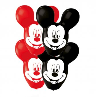 Set 4 baloane latex Urechi Mickey Mouse 55cm